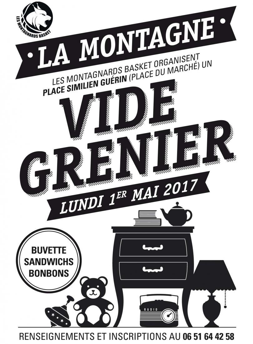 Vide grenier 1er mai 2017 les montagnards basket for Vide grenier loiret 2017